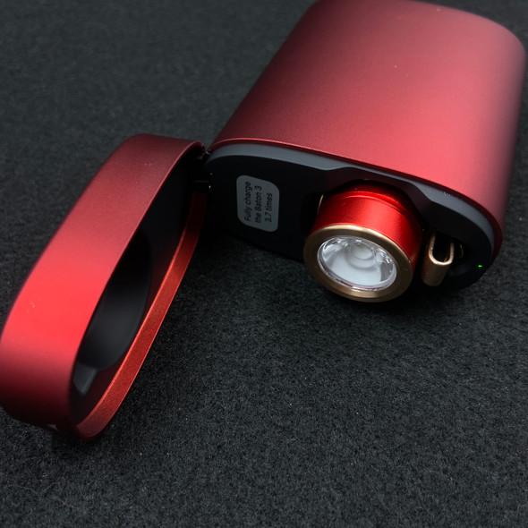 Olight Baton 3 Red 1200 Lumen w/ Charge Bank