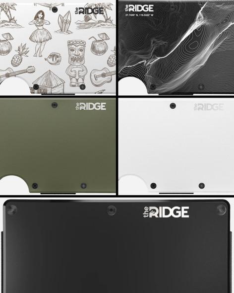 The Ridge Wallet (Aluminum Models)