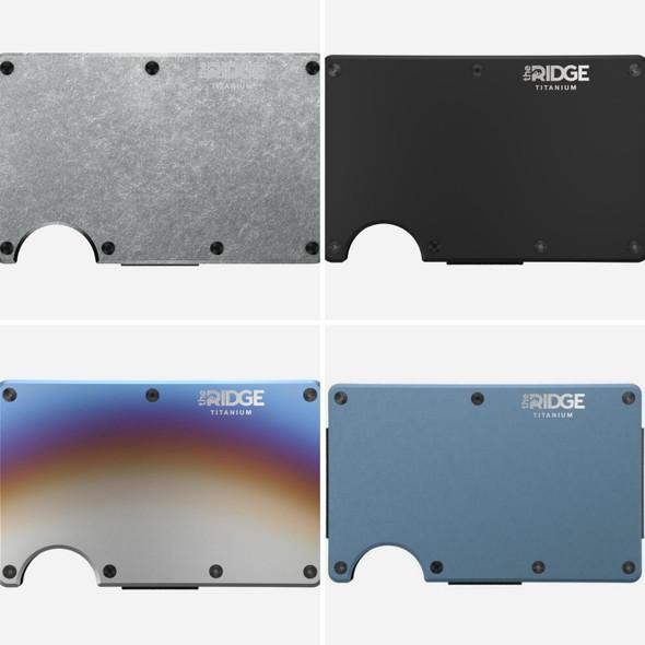 The Ridge Wallet (Titanium Models)