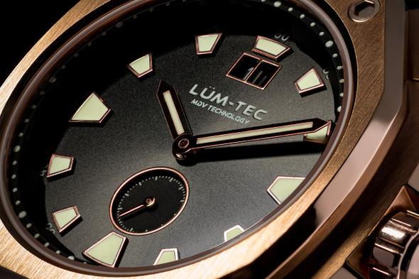Lum-Tec V Series V14 Black Croc Band Limited Edition