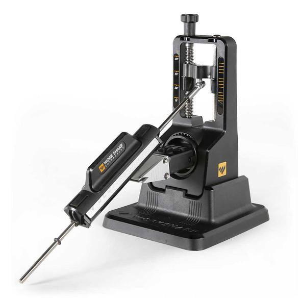 Work Sharp Precision Adjust Knife Sharpener W/ Tri-brasive Stone