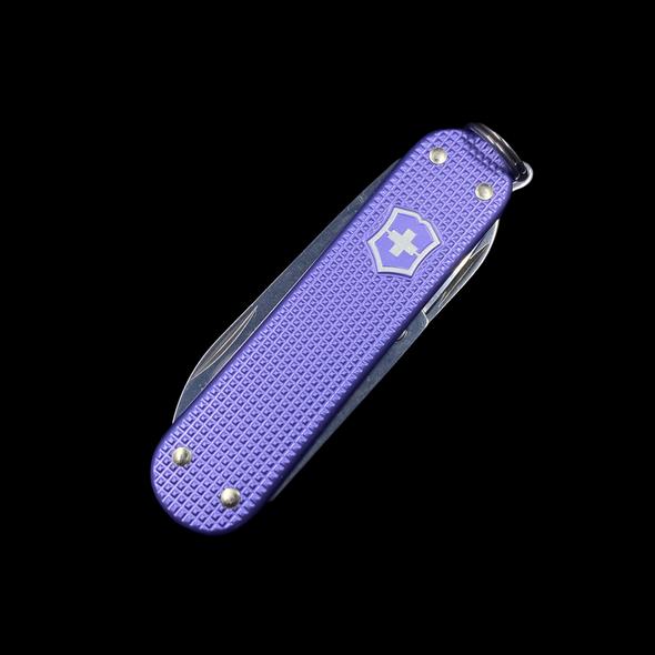Victorinox L.E. 2021 Classic SD Swiss Army Knife Electric Lavender Alox