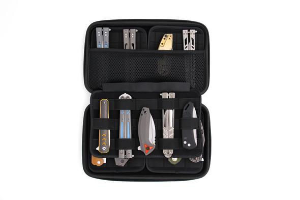 Vault Secure Locking Knife Case - Carbon Fiber