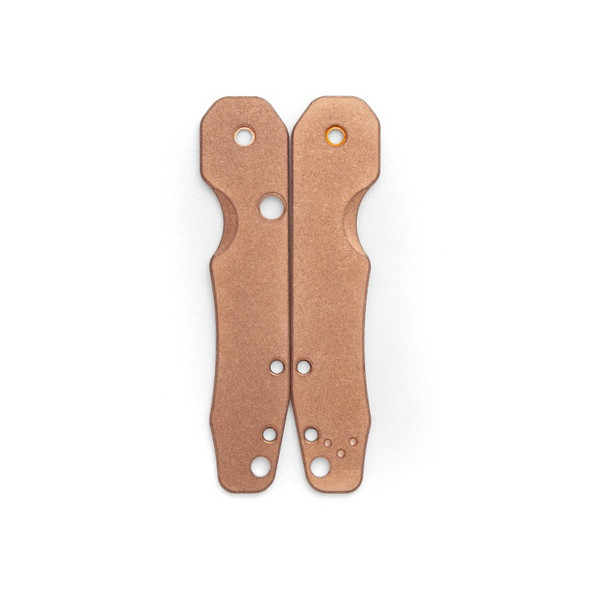 Flytanium Stonewashed Copper Scales for Spyderco Smock