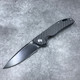 Bestech Bison Frame Lock Flipper Carbon Fiber/G-10 Blackwashed 3.5""