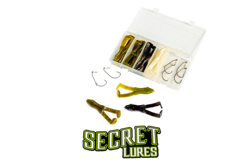 Secret Lures Chubby Frog Kit Fishing Tackle Box Holiday Gift Guide
