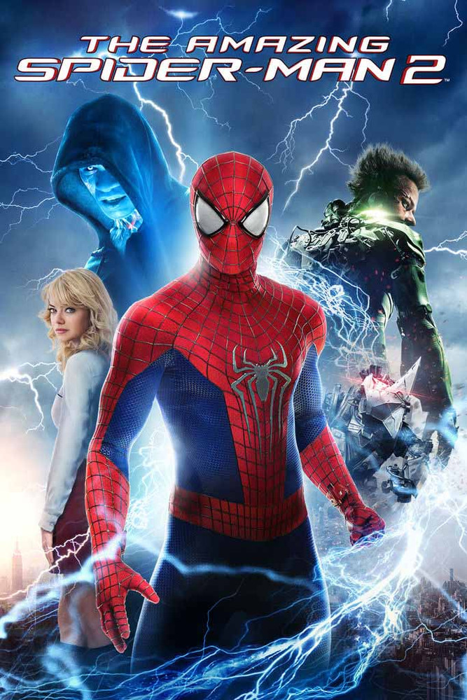 The Amazing Spider-Man 2 [Movies Anywhere SD, Vudu SD or iTunes SD via Movies Anywhere]