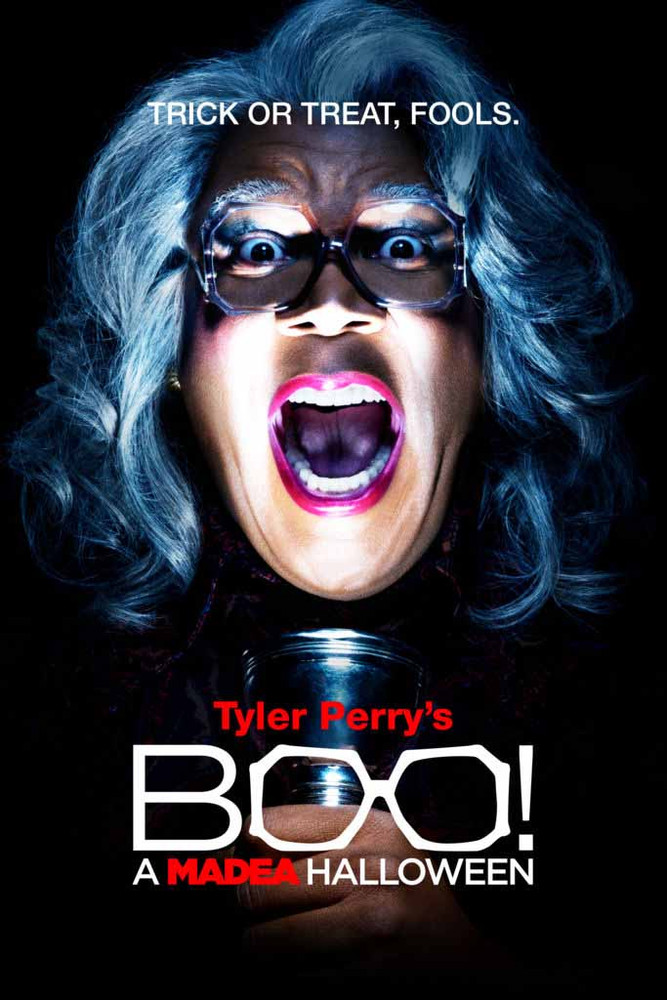 BOO! A Madea Halloween [Vudu HD or iTunes HD]
