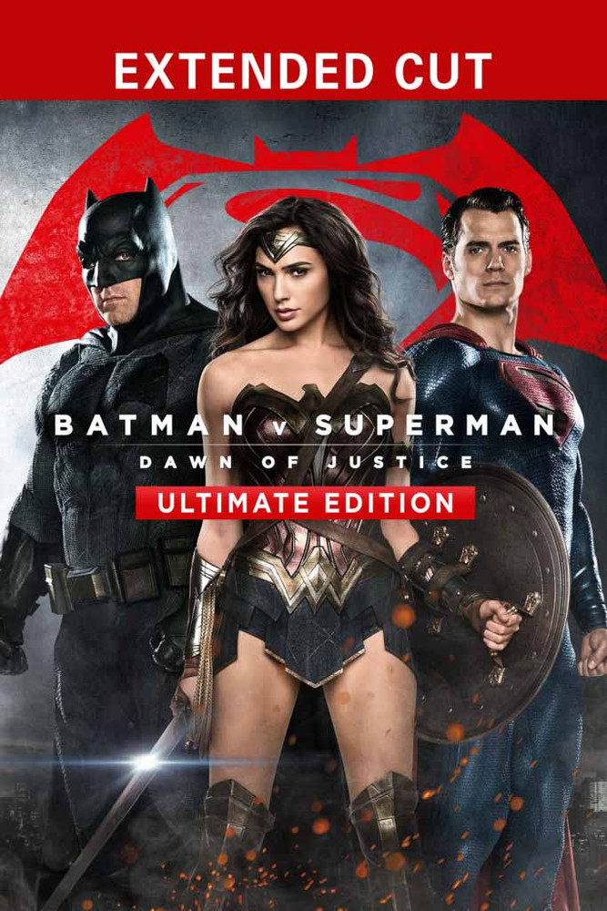 Batman v Superman:  Dawn of Justice Ultimate Edition [Movies Anywhere HD, Vudu HD or iTunes HD via Movies Anywhere]
