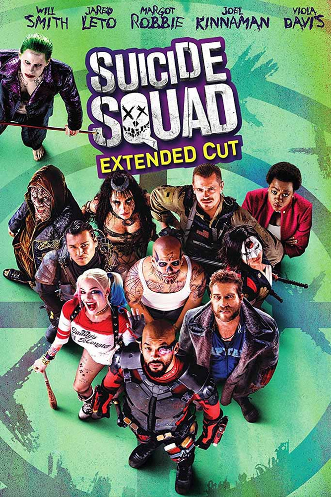 Suicide Squad Extended Cut [Vudu 4K or iTunes 4K via Movies Anywhere]