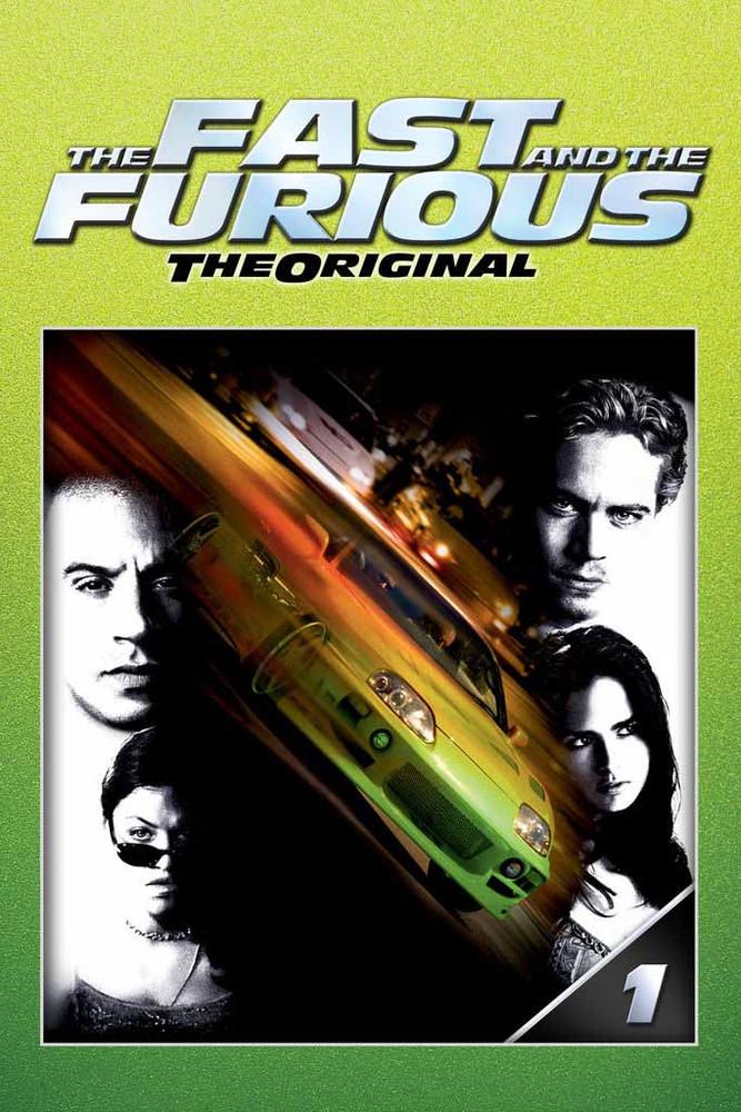 The Fast And The Furious [Vudu HD or Movies Anywhere HD via Vudu]