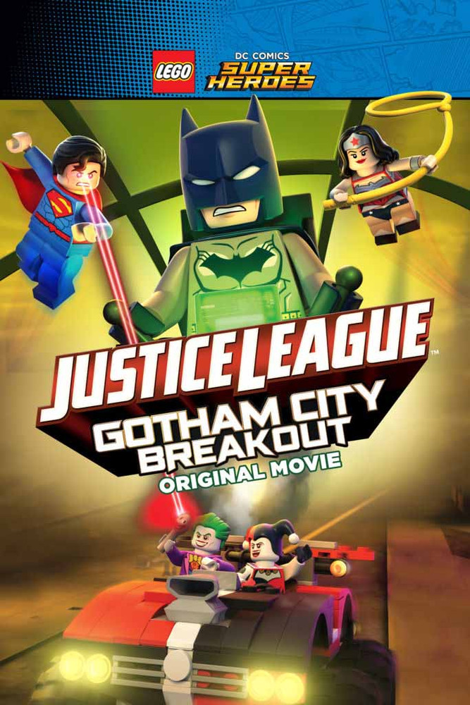 Lego Super Heroes Justice League Gotham City Breakout [Movies Anywhere HD, Vudu HD or iTunes HD via Movies Anywhere]