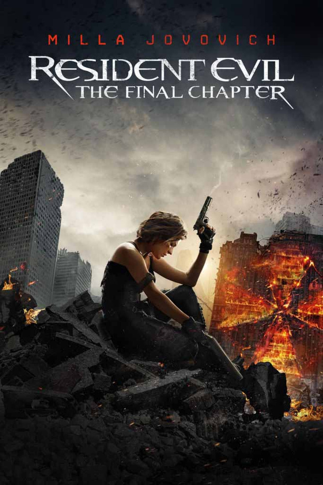 Resident Evil: The Final Chapter [Vudu 4K or iTunes 4K via Movies Anywhere]