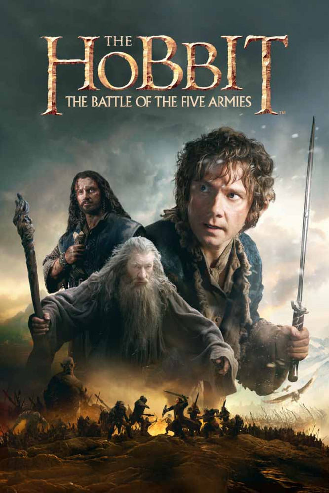 The Hobbit The Battle Of Five Armies [Movies Anywhere HD, Vudu HD or iTunes HD via Movies Anywhere]