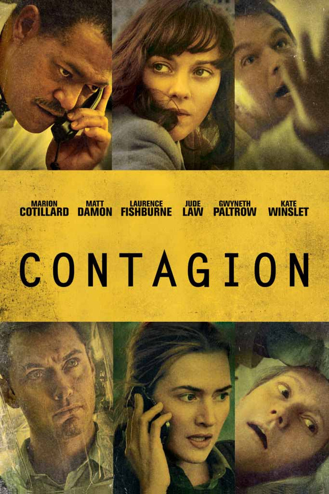 Contagion [UltraViolet HD or iTunes via Movies Anywhere]