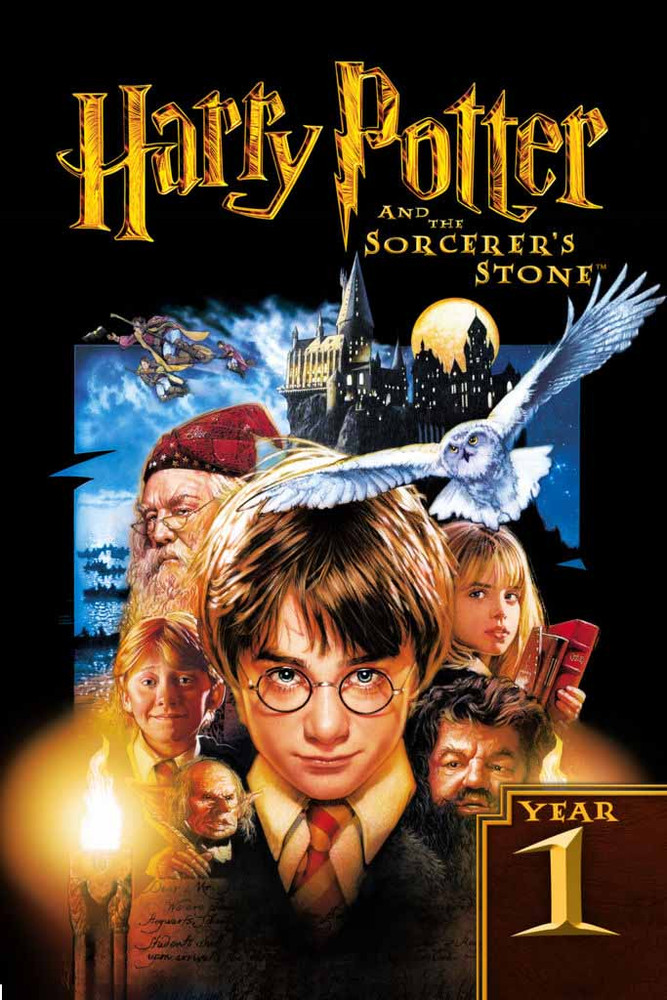 Harry Potter And The Sorcerer' Stone [Movies Anywhere HD, Vudu HD or iTunes HD via Movies Anywhere]