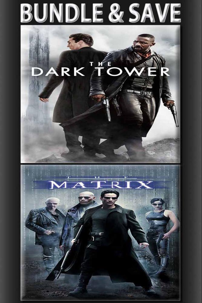 The Dark Tower + Matrix Bundle [UltraViolet HD or iTunes via Movies Anywhere]