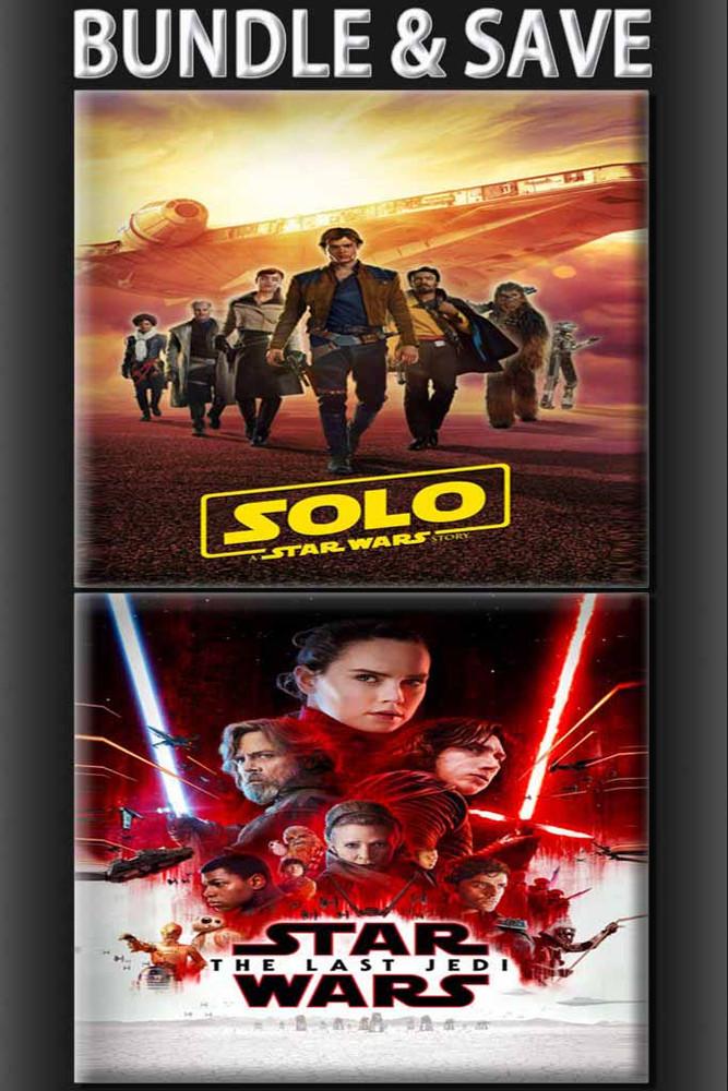 Solo A Star Wars Story + Star Wars The Last Jedi