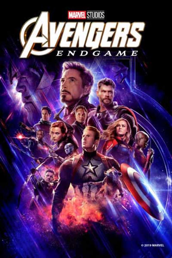 Avengers Endgame [Movies Anywhere HD, Vudu HD or iTunes HD via Movies  Anywhere]