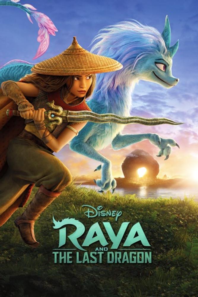 Raya & The Last Dragon [Movies Anywhere HD, Vudu HD or iTunes HD via Movies Anywhere]