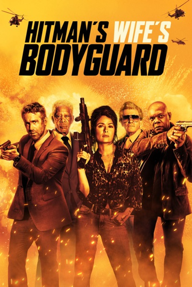 Hitman's Wife's Bodyguard [Vudu 4K or iTunes 4K]