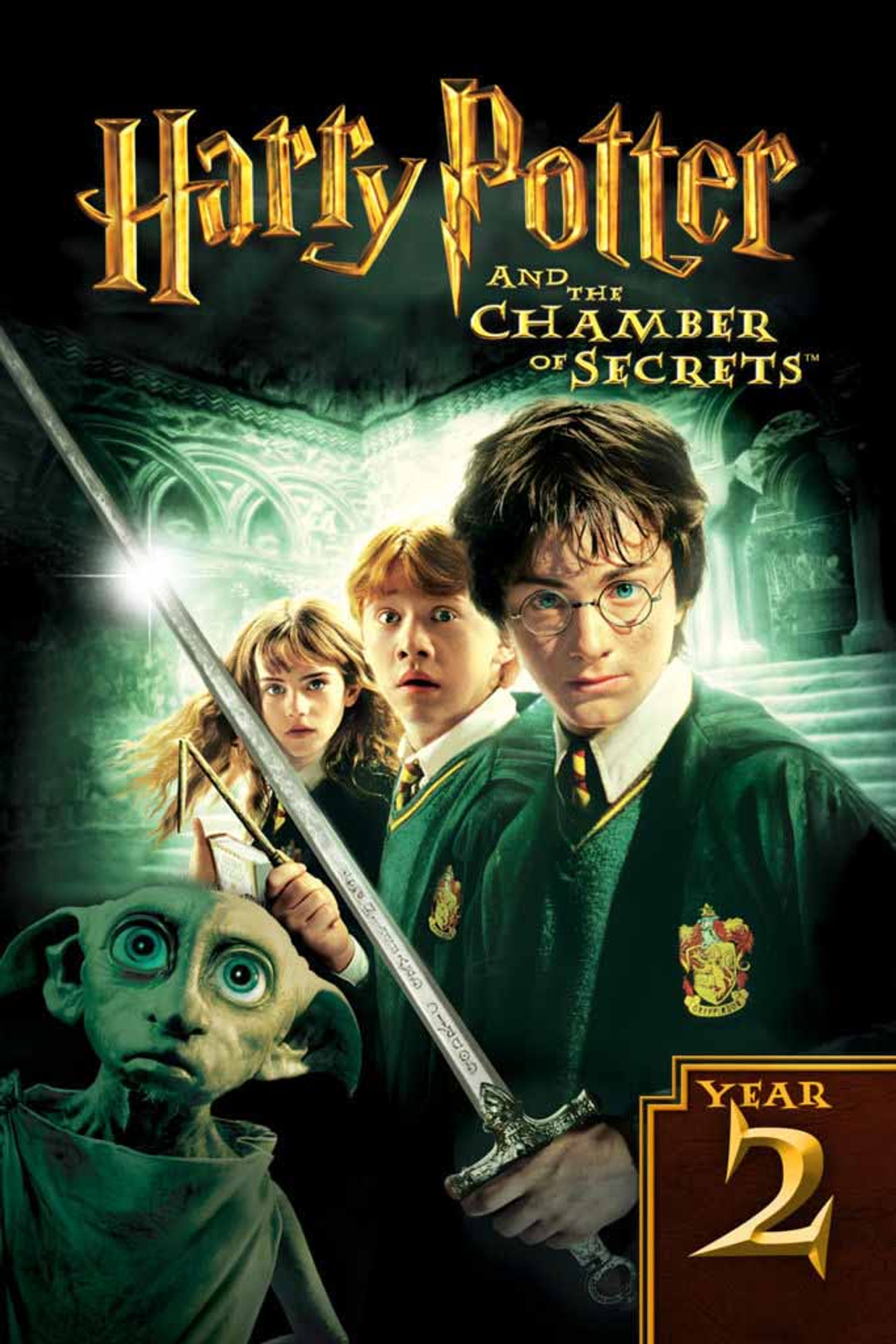 Harry Potter And The Chamber Of Secrets [Ultraviolet 4K or iTunes 4K via  Movies Anywhere]