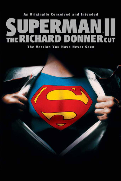 Superman II:  The Richard Donner Cut [Movies Anywhere HD, Vudu HD or iTunes HD via Movies Anywhere]