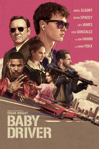 Baby Driver [Movies Anywhere HD, Vudu HD or iTunes HD via Movies Anywhere]