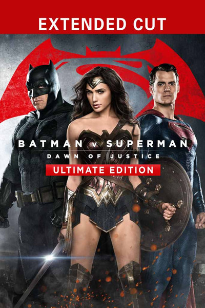 Batman v Superman:  Dawn of Justice Ultimate Edition [Movies Anywhere, Vudu 4K or iTunes 4K via Movies Anywhere]