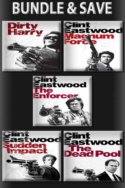 Dirty Harry 5 Movie Bundle