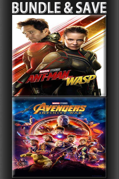 Ant Man & The Wasp + Avengers Infinity War