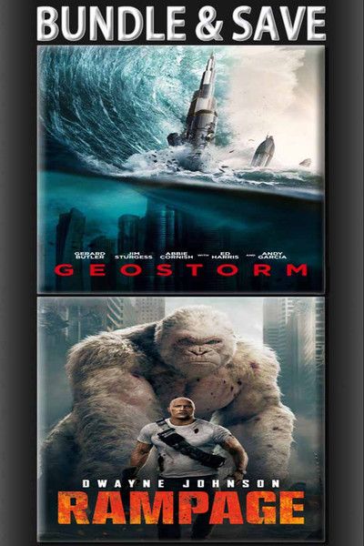 Geostorm + Rampage Bundle