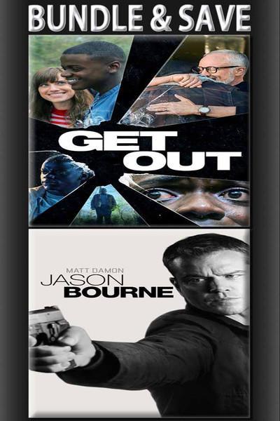 Get Out + Jason Bourne Bundle
