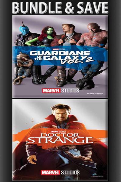 Bundle: Guardians Of The Galaxy Vol. 2 + Doctor Strange