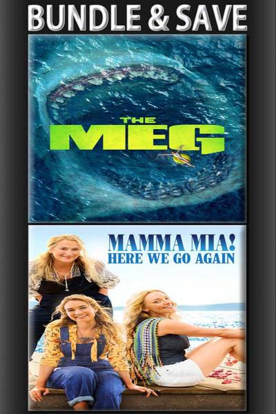 The Meg + Mamma Mia Here We Go Again!