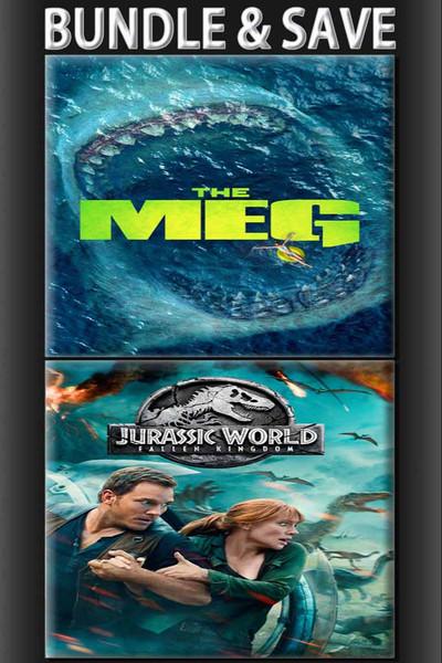 The Meg + Jurassic World Fallen Kingdom