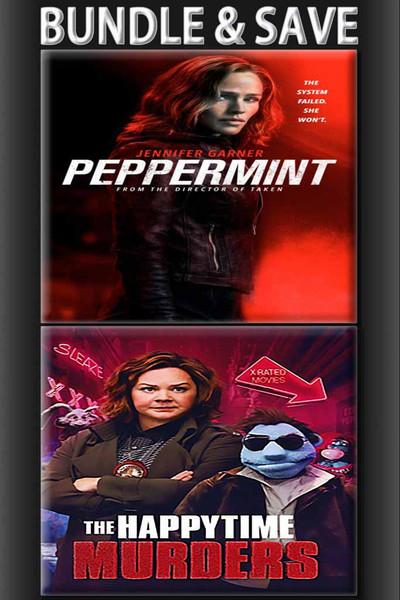 Peppermint + Happytime Murders