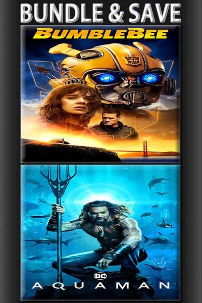 Bumblebee + Aquaman