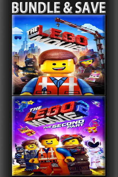 Lego Movie + Lego Movie 2: The Second Part