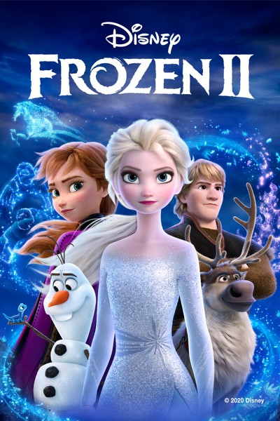 Frozen II  [Movies Anywhere 4K, Vudu 4K or iTunes 4K via Movies Anywhere]