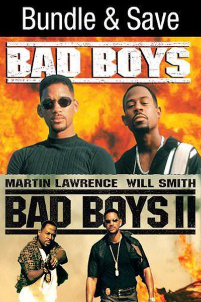 Bad Boys & Bad Boys II BUNDLE [Movies Anywhere HD, Vudu HD or iTunes HD via Movies Anywhere]