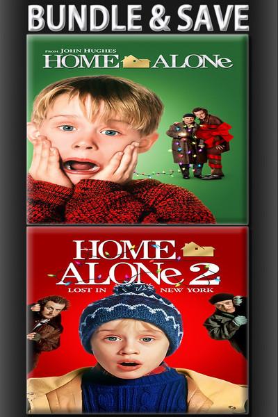 Home Alone + Home Alone 2 BUNDLE