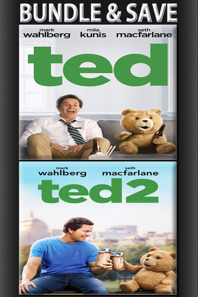 Ted + Ted 2 Unrated Bundle [Movies Anywhere HD, Vudu HD or iTunes HD via Movies Anywhere]