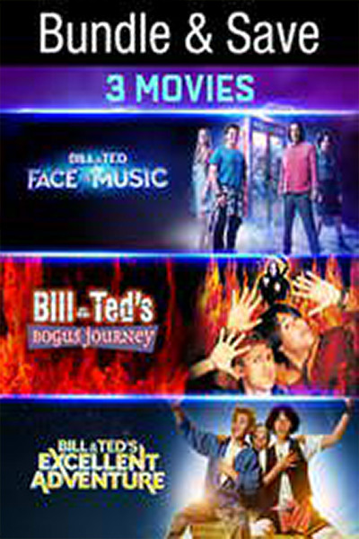 Bill & Ted Excellent Triple Feature BUNDLE