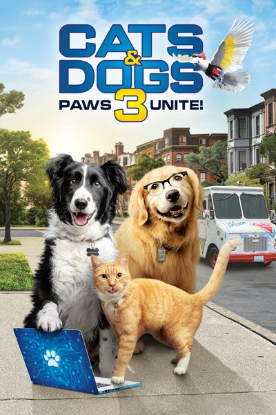 Cats & Dogs Paws 3 Unite