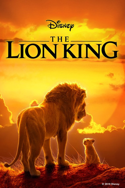The Lion King 2019 LIVE ACTION [Google Play] Transfers To Movies Anywhere, Vudu and iTunes