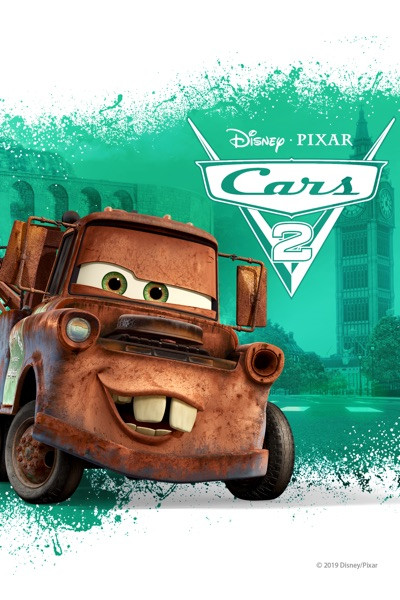 Cars 2 [Google Play] Transfers To Movies Anywhere, Vudu and iTunes