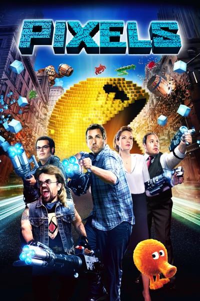 Pixels [Movies Anywhere HD, Vudu HD or iTunes HD via Movies Anywhere]