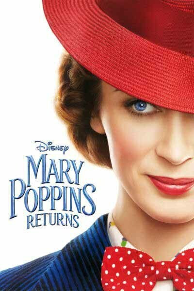 Mary Poppins Returns [Google Play HD] Transfers To Movies Anywhere, Vudu & iTunes
