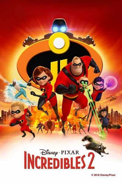 Incredibles 2 [Google Play] Transfers To Movies Anywhere, Vudu & iTunes